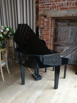 Piano at Bury Court Barn | Simon Grand