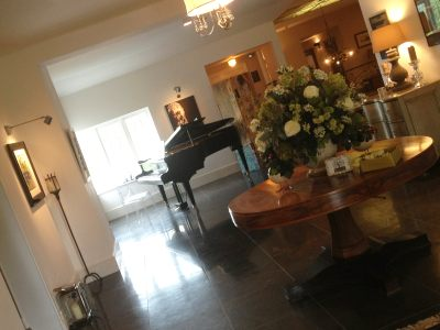 Piano at Russets Country House | Simon Grand